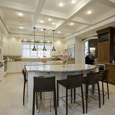 Traditional Kitchen by Oellien Design, Inc.