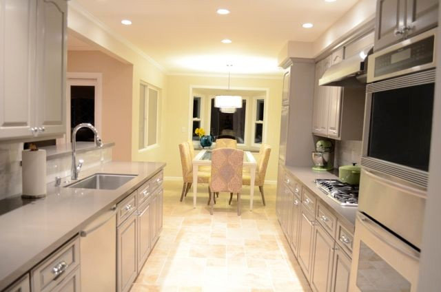 Traditional Kitchen by Karin Marganian Interior Designs