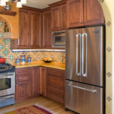 Mediterranean Kitchen by Avente Tile