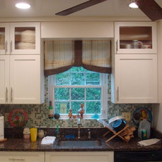 Contemporary Kitchen by CPDC Decor Custom Window Treatments