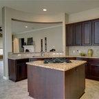 Lake Home Kitchen - Mediterranean - Kitchen - Austin - by Cornerstone Architects