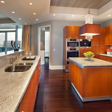 Contemporary Kitchen by Morgan Howarth Photography