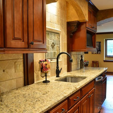 Mediterranean Kitchen by One Room at a Time, Inc.