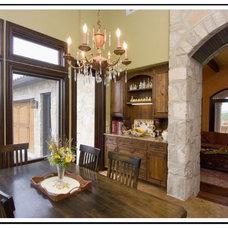 Mediterranean Kitchen by Soledad Builders, LLC