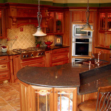 Mediterranean Kitchen by Cranbury Design Center LLC