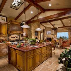 Mediterranean Kitchen by Brion Jeannette Architecture