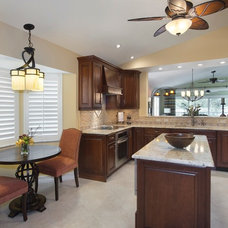 Traditional Kitchen by Wright Interior Group