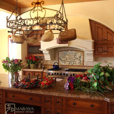 Farmhouse Kitchen by Maraya Interior Design