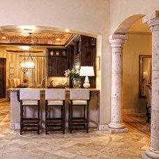 Traditional Kitchen by Zbranek & Holt Custom Homes