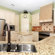 Traditional Kitchen by Krista Agapito - S&W Kitchens, Inc.