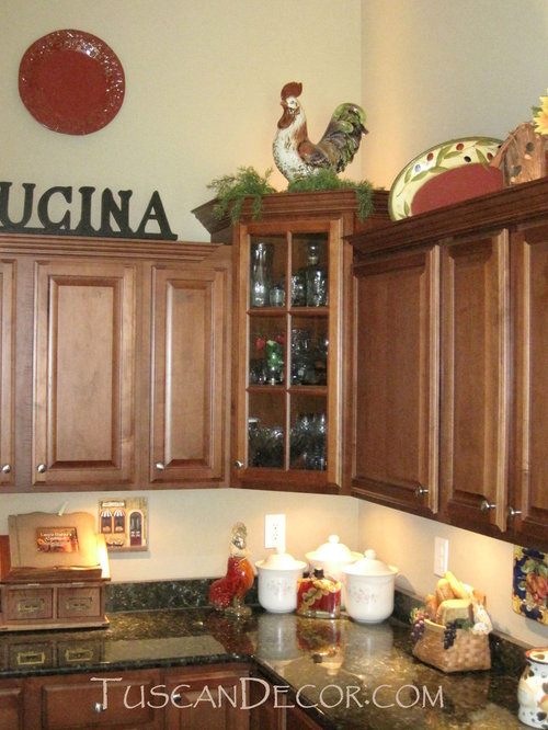 Tuscan Kitchen Decorating