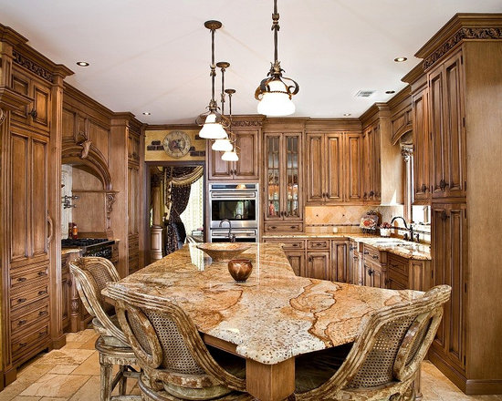 tuscan kitchen design | houzz