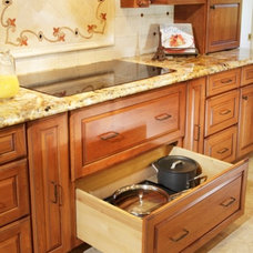 Mediterranean Kitchen by DreamBuilders Home Remodeling