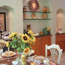 Mediterranean Kitchen by Eileen Kollias Design