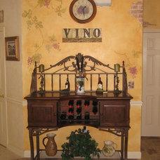 Mediterranean Kitchen by Ginny Vincz/Decorative Finishes
