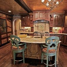 Mediterranean Kitchen by K' Bella Studios