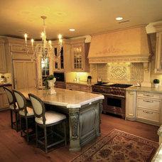 Mediterranean Kitchen by Studio Stratton Inc