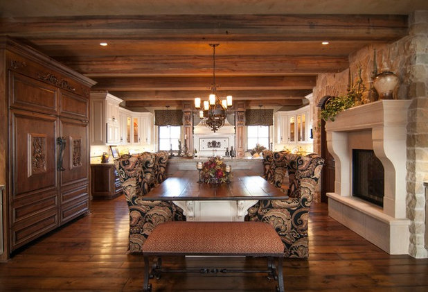 Cool Traditional Kitchen by Matt Clawson