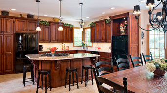 Tuscan themed kitchen remodel
