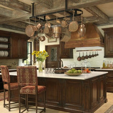 Mediterranean Kitchen by Amy Studebaker Design