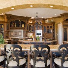 Mediterranean Kitchen by Karla Shone Designs