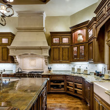mediterranean kitchen by Stotler Design Group