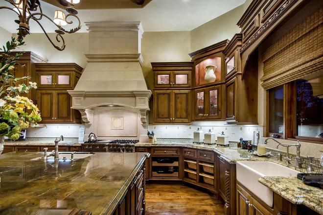 Mediterranean Kitchen by Stotler Design Group