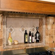 Mediterranean Kitchen by Michael Nash Design, Build & Homes