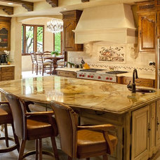 mediterranean kitchen by Brandi Smith