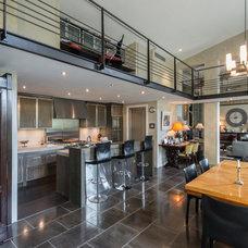 Transitional Kitchen by KB Walsh Design Ltd.