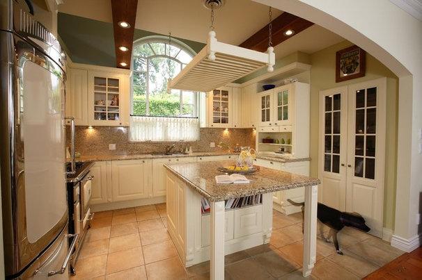 Mediterranean Kitchen by Arrow House Design Studios