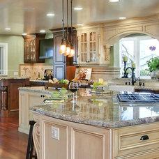 Mediterranean Kitchen by Gourmet Galleys & Loos | Kitchen and Bath Design
