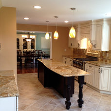 Traditional Kitchen by Heller's Building & Remodeling