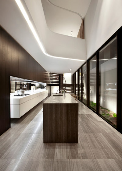 Contemporary Kitchen by Smart Design Studio