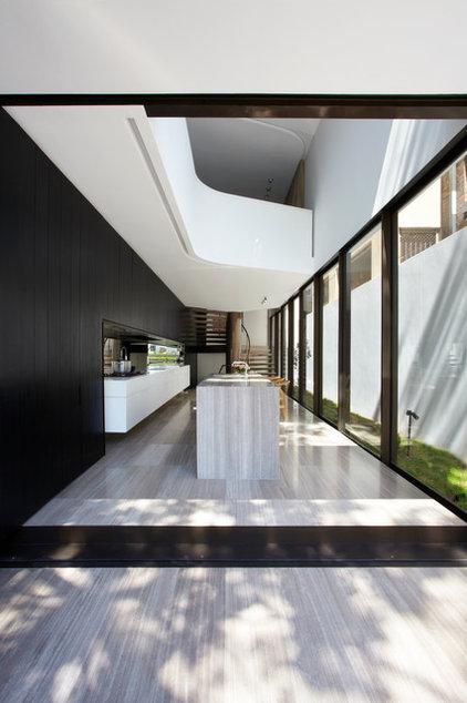 Contemporary Kitchen by Smart Design Studio