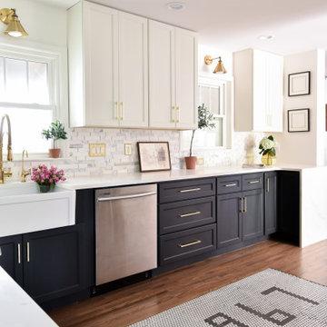 Tuxedo Kitchen Remodel