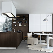 Contemporary Kitchen by Poliform USA