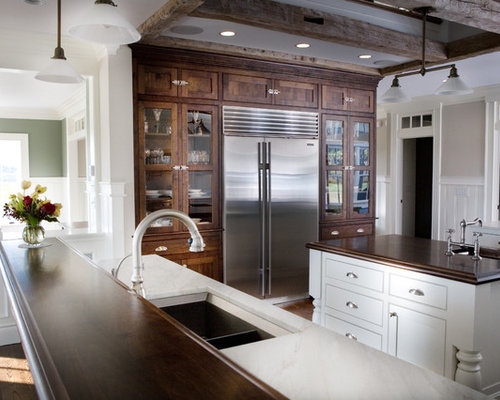 Best Cabinets Around Refrigerator Design Ideas & Remodel ...