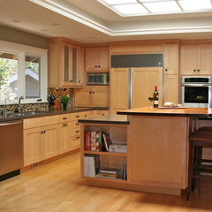 contemporary kitchen Two Chef Island