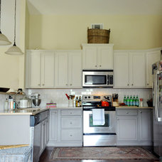 Eclectic Kitchen by Two Ellie