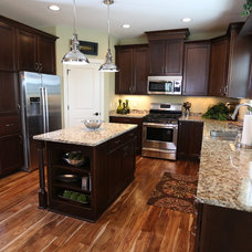 Traditional Kitchen by Aspen Homes Inc