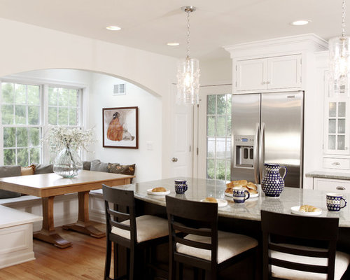 Kitchen Cabinets Ideas kitchen nook cabinets Built In Breakfast Nook Ideas, Pictures, Remodel and Decor