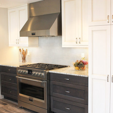 Two Tone Cabinet Layout