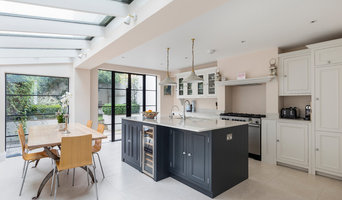 Two Tone Kitchen Diner