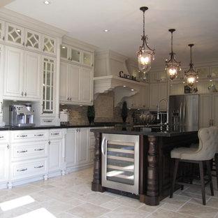Two-tone kitchens and Glazed kitchens