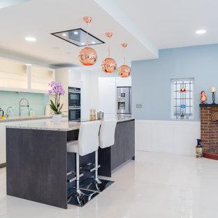 Two Tone Open Plan Kitchen
