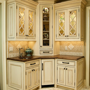 Two Tone Traditional NJ Kitchen Design