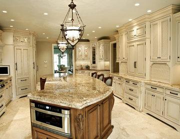 Two Tone Traditional NJ Kitchen Design