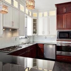 Contemporary Kitchen by Barbara Seidel