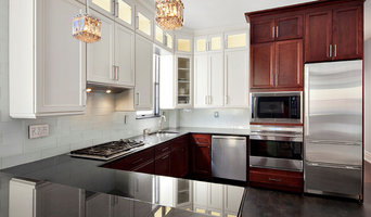 TWO TONED CABINETS/ Brooklyn Renovation Project